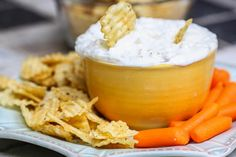 Lightened Up Sour Cream and Onion Dip