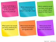 Free Download: Middle School Icebreaker Questions
