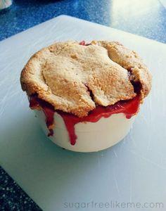 Sugar Free Like Me: The Best Sugar Free Low Carb Cherry Pie!