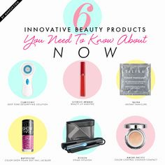 best new beauty product innovations // ahh! these are all so neat!