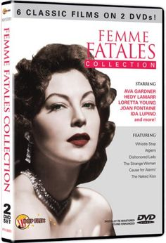 Femme Fatales Collection: Joan Fontaine, Ava Gardner, Hedy Lamarr, Loretta Young