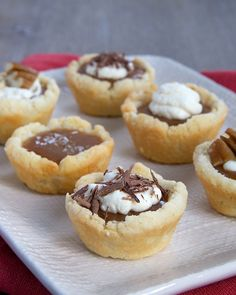Mini Caramel Tarts are the perfect addition to your dessert table!   Bake or Break