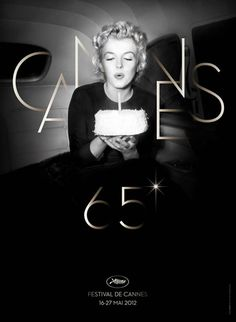 Cannes 65 Poster Celebrates Marilyn Monroe