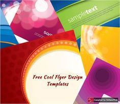 free flyer design templates .