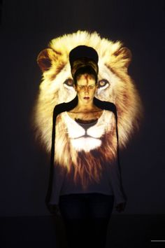Projection Project by Stacey Williams, via Behance