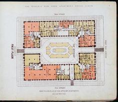 10 Elaborate Floor Plans from Pre-World War I New York City Apartments   Mental Floss