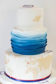 Weddingcake Travel #suess-und-salzig