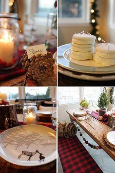 glass boxes, christmas style, xmas, christmas tables, christmas decorations, christma decor, rustic christmas, homemade christmas, deer