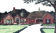 Houseplans On Pinterest French Country House House
