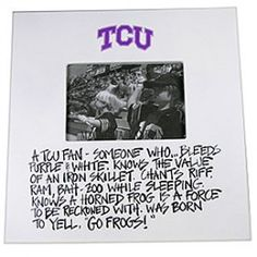 University - Texas Christian University Definition Frame - HOME & GIFTS   Pinto Ranch