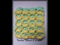 Punto reversible en Crochet - YouTube - reversible crochet. Video