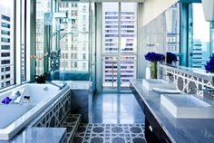 The penthouse bath f