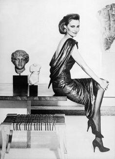 Willow Bay, Estee Lauder model