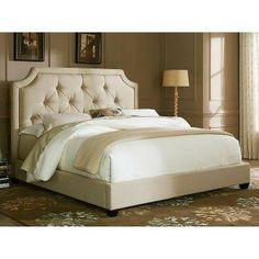 Upholstered Platform Bed.