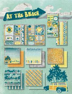 At the Beach by Moxxie beach girl, at the beach