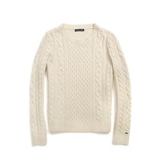 Image for WOOL CASHMERE CABLEKNIT SWEATER from Tommy Hilfiger USA