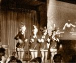 Flapper Girls ~ The Eddies at The Edison LA flapper girls