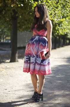 Peter Pilotto dress...and those SHOES!