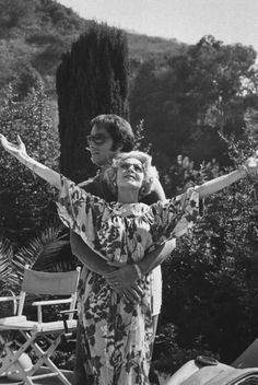 Lana Turner with her seventh husband Ronald Dante