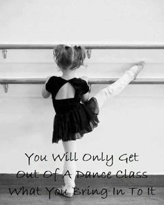 I have been dancing since i was three and i love this pic so much. To me dancing is the only thing that can make you loose yourself and find your self all at once