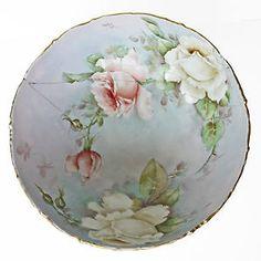Antique Limoges Punch Bowl