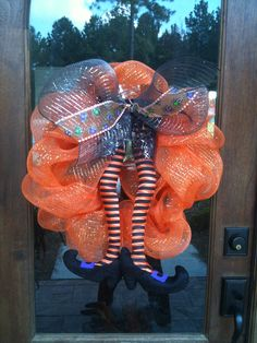 halloween wreath. Wreaths For All Occasions on FACEBOOK