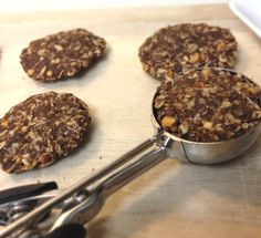 Healthy No Bake Peanut Butter Cookies
