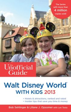 Want to win one of these?! Unofficial Guide to Walt Disney World with Kids 2013: http://blog.undercovertourist.com/2012/10/our-first-ever-pinterest-giveaway/