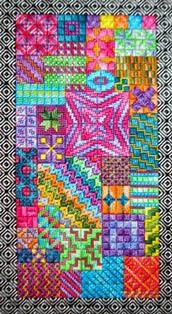 colors...needlepoint