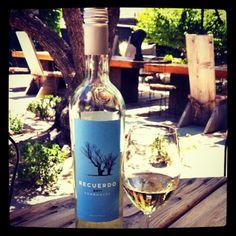 Enjoy a glass of Torrontés on a hot summer day...