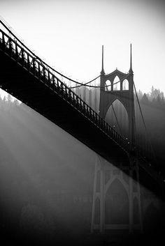 St. John's Bridge- Portland, OR