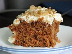Rose's Recipes: One-Bowl Carrot Cake