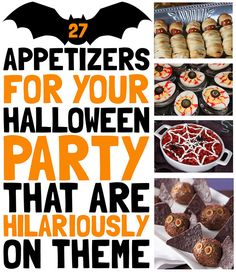 27 Appetizers For Your Halloween Party That Are Hilariously On Theme