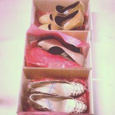#elencargodelasemana x3!! #zapatos #porencargo recién #hechosamano directos al #taller #madrid #handmade #shoes