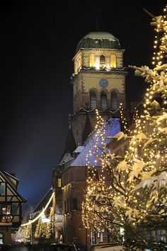 Alsace, France at Christmas