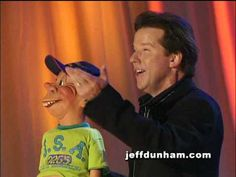"""A clip of Jeff Dunham and Bubba J from Jeff's classic stand-up special and DVD, """"Arguing with Myself""""."""