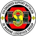 """9th Engineer Support Battalion (9th ESB), Hansen Marine Corps Base Okinawa Japan, """"Excellence in Engineering"""""""