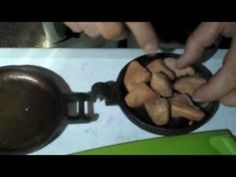 Monkey Bread Dessert in Rome Pudgy Pie Iron - YouTube
