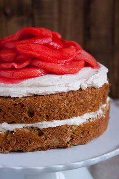 Red Hot Cinnamon Apple Cake Recipe