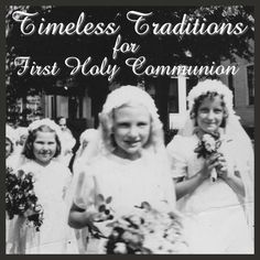 first holy communion traditions