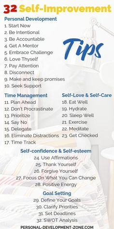 32 self-improvements tips to bring you success in life! Start today for amazing results tomorrow! Self Improvement | Tips | Personal Development | Self Confidence | Self Worth | Self Love #tips #selfimprovement #personaldevelopment #success #selfconfidenc