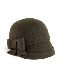 Bow Cloche Hat