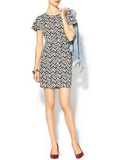 Collective Concepts Chevron Knit Dress | Piperlime