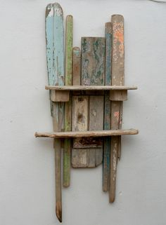 Driftwood shelves,Drift wood, Art,Sculpture,Wall mounted Shelves