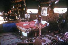 hanging bed interior design, favorit place, hang bed, hanging beds, cabin bedroom, abod, blog, bohemian interior, bohemian bed