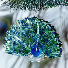 Peacock Ornament by Lenox