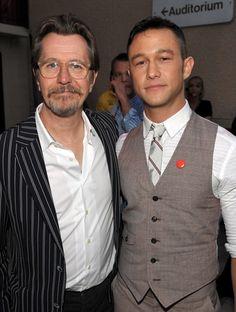 Gary Oldman and Joseph Gordon-Levitt. Love both of these men. SO. MUCH.
