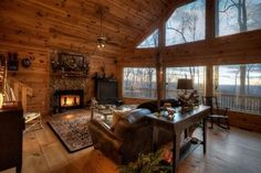 Mountain Views - Ellijay GA - Blue Sky Cabin Rentals