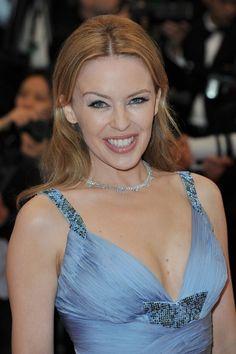 Kylie Minogue Layered Cut