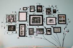 family tree on the wall